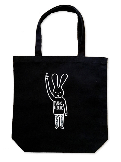 Hand Drawing Tote Bag / Rabbit