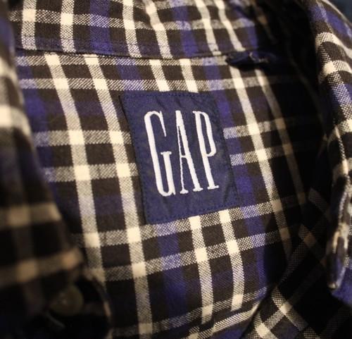 Old GAP Check Shirt