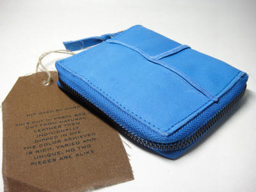 Cut n' Paste Folding Wallet (washigton/Cobalt blue)