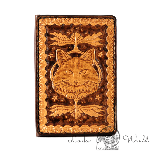 Card case long-haired Cat