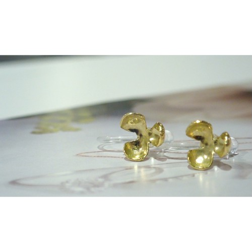 【予約販売】Pop K18YG Clip-on Earrings