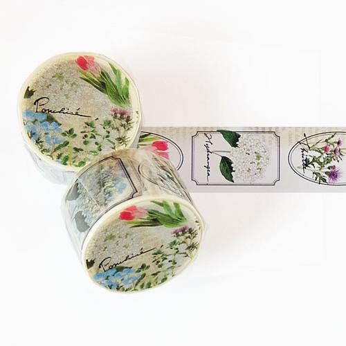 花のマスキングテープ MT20