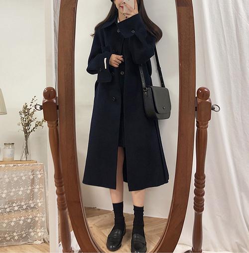 【数量限定】ベーシックネイビーコート