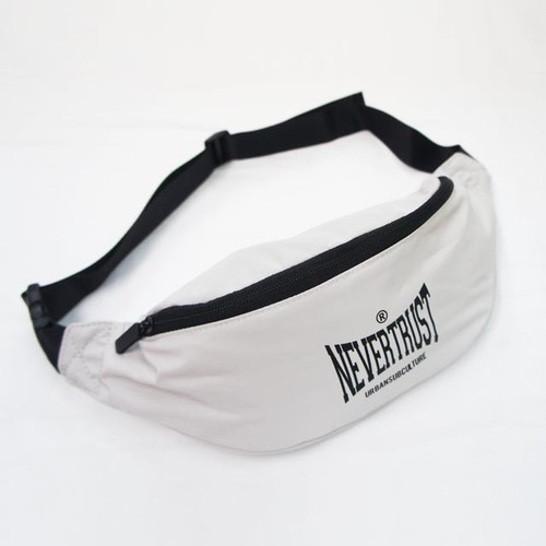 WAIST BUM BAG / SILVER GRAY