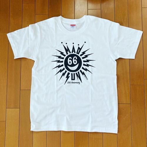 MAD SUN T-Sirts Black Print on White