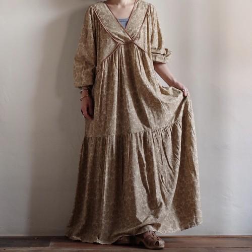 Select Item / Paisley pattern Rayon Dress / ペイズリー柄 レーヨン ドレス