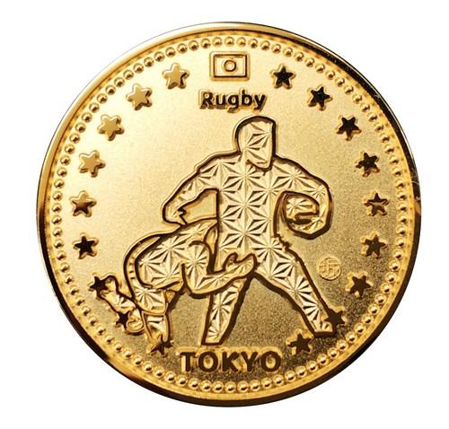 東京 スポーツ ゴールド コイン ラグビー Tokyo Sports Gold Medals Rugby