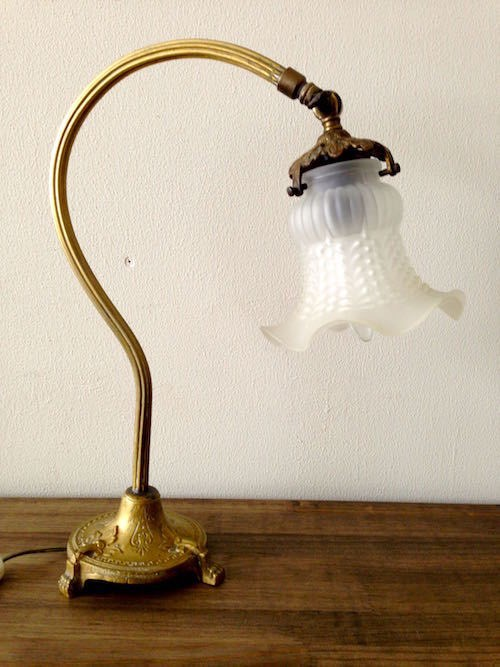 Antique Art Nouveau Lamp