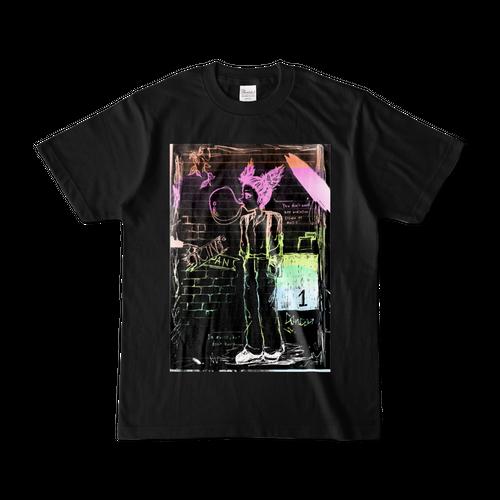 オリジナルキャラクターTシャツ ブラック