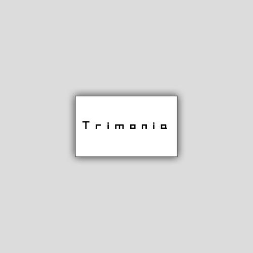 [Sticker] Trimonia / ロゴステッカー (名刺サイズ)