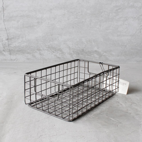 PUEBCO WIRE BASKET SHOES BOX Small(プエブコ ワイヤーバスケット シューズボックス S)