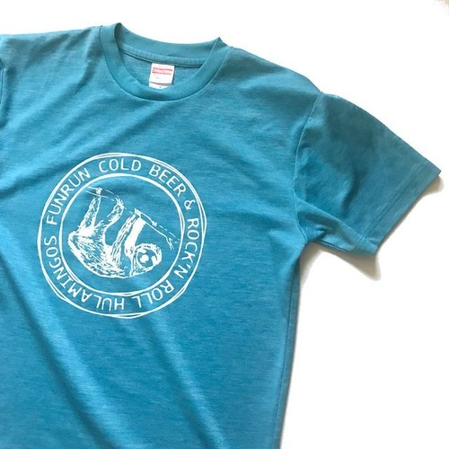 FUNRUN COLD BEER & ROCK 'NROLL T-SHIRTS CHAMBRAY