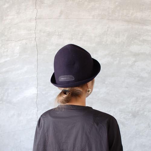 mature ha.free hat back stitch navy(マチュアーハ フリーハット バックステッチ ネイビー)送料無料