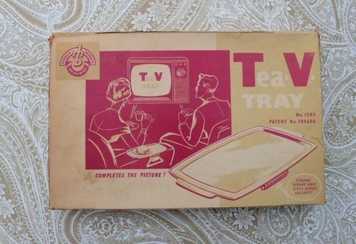 TVトレイ デッドストック未使用  ヴィンテージ 小さなテーブル トレイ