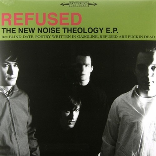 【USED】REFUSED / THE NEW NOISE THEOLOGY E.P.