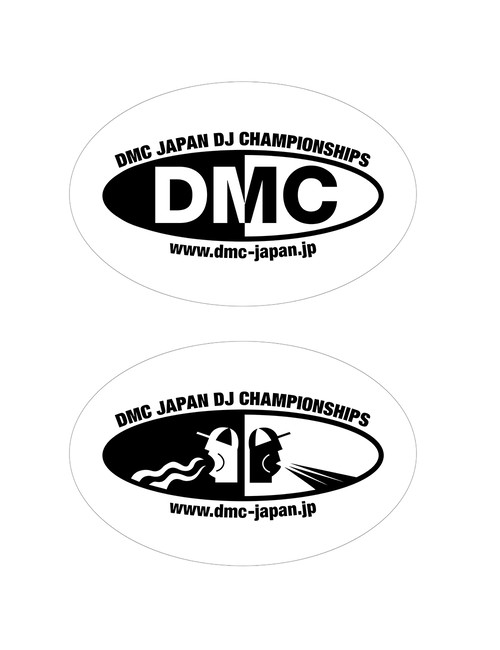 DMC JAPAN STICKER