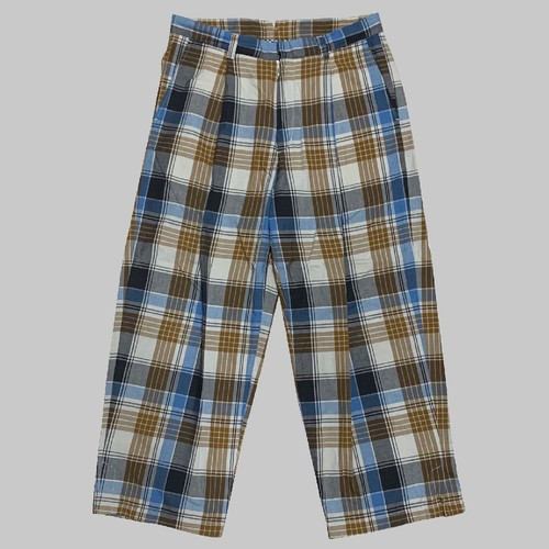 【ONLINE LIMITED EDITION】CC COTTON WORK PANTS-PLANE CHECK