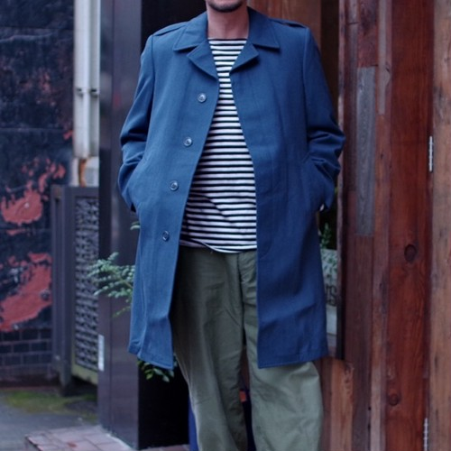 1990s Canadian Air Force All-Weather Coat / New Old Stock !!!  カナダ軍 ウールコート