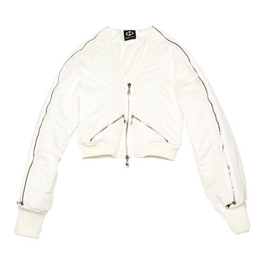 Docking Blouson (White)