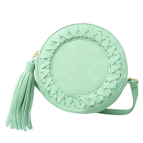 Tassel Bag Crossbody Bag Shoulder Bag Cute Messenger Bag 大人ガーリー スウィート キュート カジュアル ショルダーバッグ クロスボディ メッセンジャーバッグ タッセル (COS99-4894970)