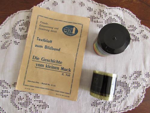 DIA FILM(東ドイツのフィルム) 小さなムックの物語