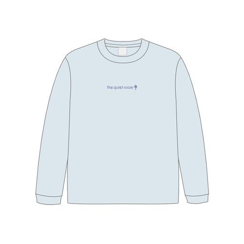 ※先行通販※刺繍ロングスリーブTシャツ(ライトブルー)
