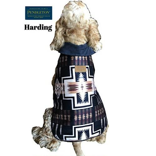 【XSサイズ ロング】寒い日のお散歩におしゃれな犬用コート!PENDLETON(ペンドルトン)コート XSサイズ ロングタイプ 小型犬用