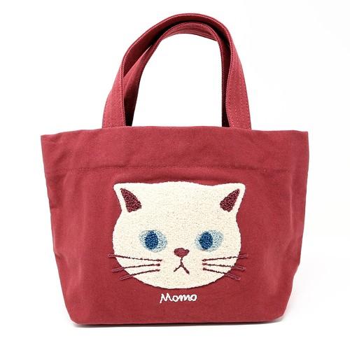 猫トートバッグ(ファミネコトート)レッド