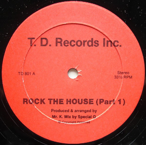 Mr.K / Rock The House