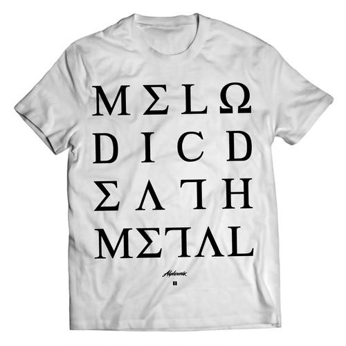 "Alphoenix ""MDM II"" WHITE T-Shirt"