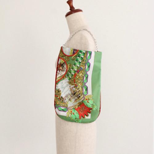 【一点もの】No.2 スカーフで作ったプチバッグ