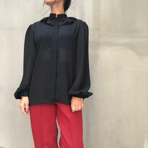 70's vintage lace blouse