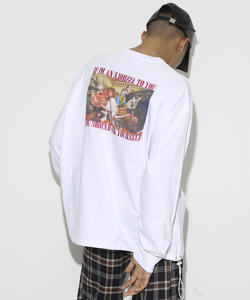 Your self Long sleeve T-shirt [White]