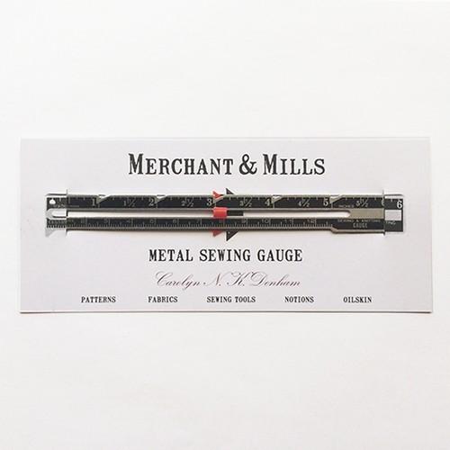 <MERCHANT&MILLS > METAL SEWING GAUGE ソーイングガイド