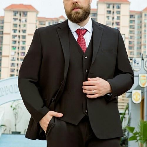 送料無料メンズ大きいサイズスーツスリーピースセットアップ9タイプS~9XL