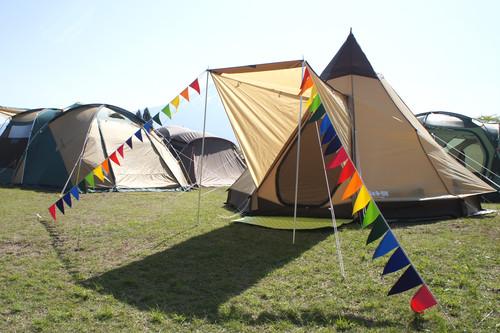 布ガーランド フラッグ 旗 結婚式 誕生日 パーティー キャンプ 飾り レインボー