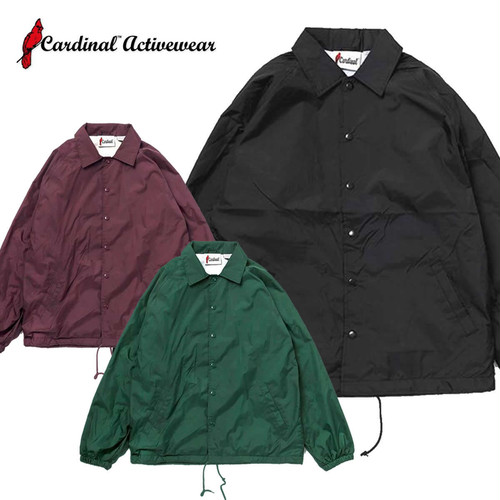(カーディナルアクティブウェア)Cardinal Activewear Light Lined Coaches Jacket
