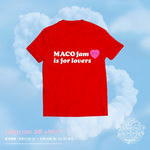 """Endless Love Tour""  for Lovers tee-Red"