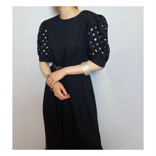 puff sleeve design  one-piece