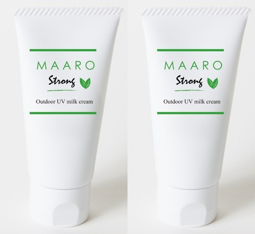 MAARO STRONG アロマミルククリーム2本セット