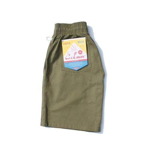 COOKMAN CHEF SHORT PANTS「KHAKI」/ KHAKI