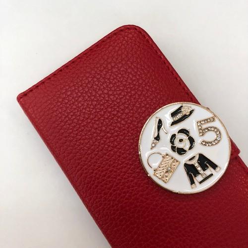 iphone5/5S/SE/6/6S/7/8/X対応ケース レイディ ローズレッド 赤