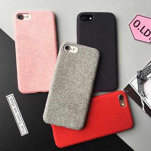 スエードソフト アイホン(iPhone)7ケース