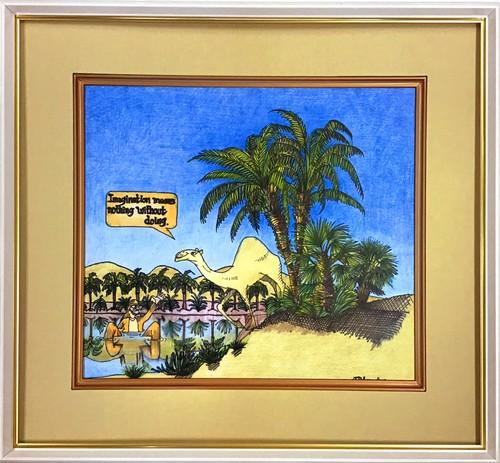 Jean-Pierre Anpontan 原画「やってみたら分かる」オリジナルアート作品
