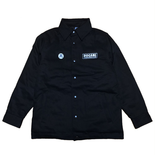 SUPERNORMAL CLUB JACKET BLACK