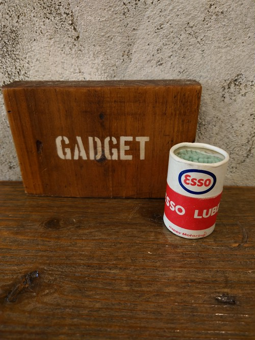 1960's Esso OIL CAN  Old Match