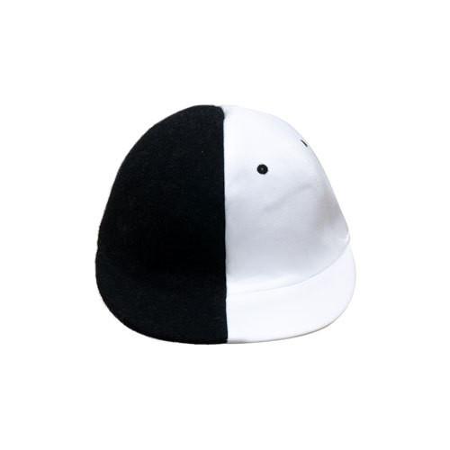 HALF-HALF/chacoal x white