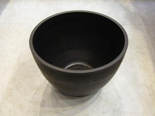 Plastic pot / met