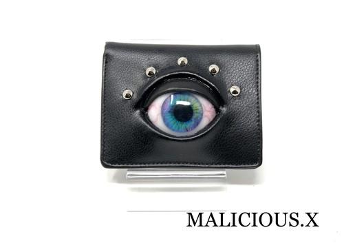 eye wallet / blue marble(折りたたみ)