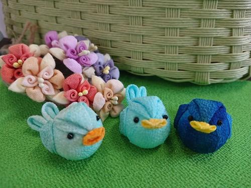 幸せの青い鳥ぴっちー♪(3色トリオ)